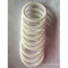 China Anillo de sello blanco de silicona para Triclamp Ferrule