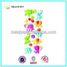 3D PVC Animal stickers