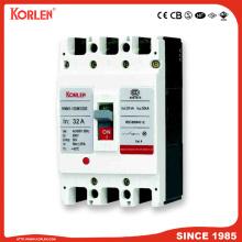 Автоматический выключатель в литом корпусе MCCB KNM1 CB 63A