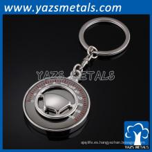 llavero personalizado de la moda de la promoción del metal
