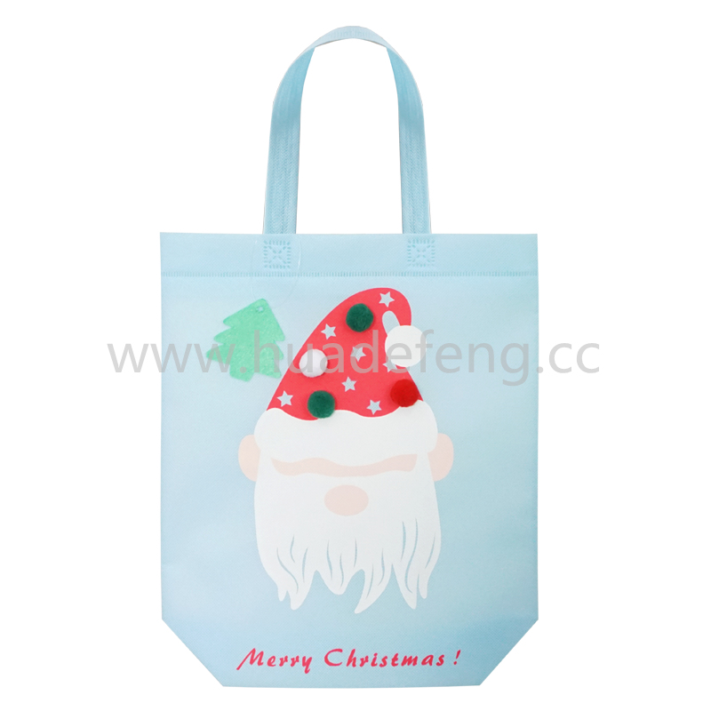 christmas reusable shopping bags
