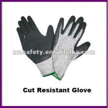 Grey PU Coated Cut Resistant Work Glove