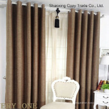 Faux Linen High Quality Ready Made Curtain