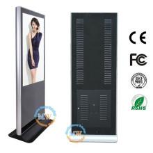 Kiosque numérique de publicité debout de plancher d'affichage à cristaux liquides de HD 46 pouces