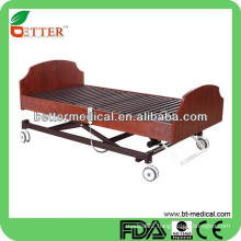 3-function wood home care bed approve CE