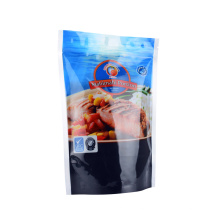 Smell Proof Waterproof Hot Seal Ziplock Plastic Stand up Pouch for Dry Sea Food Packaging