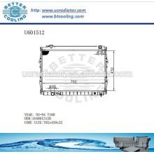 RADIATOR 1640015120 T100 93-94 Pour TOYOTA Fabricant et vente directe!