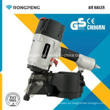 Clavadora de enclavamiento de bobinas Nailer-Mcn90 de bobina Rongpeng