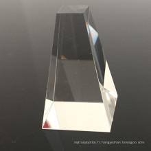 Saphir de silice fondue UV de prisme solaire optique de haute qualité BK7