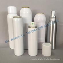 Алюминиевые бутылки с алюминиевой обжимной на насосы