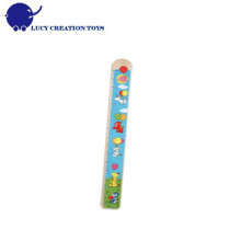 Happy Cute Kids Wooden Height Measure Growth Ruler