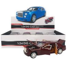 Veículo Rolls-Royce Simulação Car Models Toy Car
