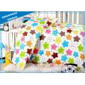 4 Pieces 100%Cotton Duvet Cover Baby Bedding Set