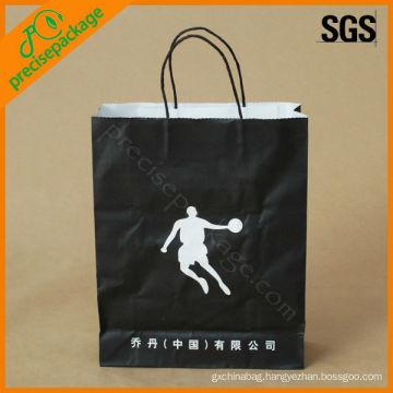 kraft paper bags black paper bags for shopping