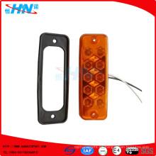 Lámpara lateral Amber 24V 10-LED