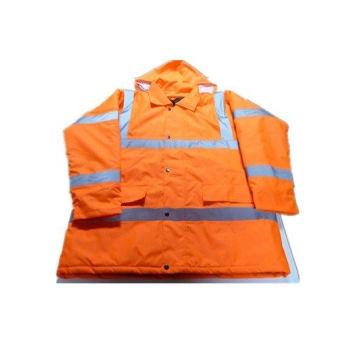 Грипп оранжевая куртка с хлопок