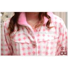 Juego de los pijamas poliéster polar coral de Homewear invierno