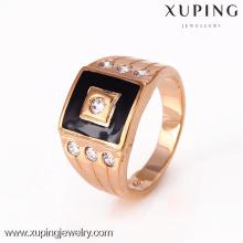 12301-Xuping 18K oro moda hombre anillo para el diseño único