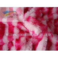 Largo felpa tela para tapicería