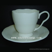 Kaffee-Tasse und Untertasse (CY-B542)
