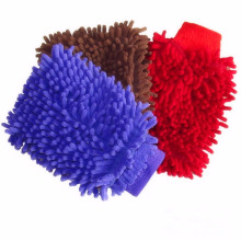 Luvas de microfibra de luva de lavagem de carro de 26 * 20 cm