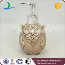 Brown Owl baño de cerámica Accesorios Lotion bottle