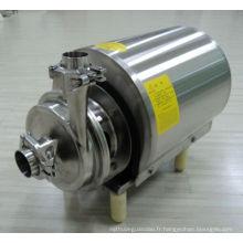 Pompe centrifuge de type sanitaire de qualité sanitaire en acier inoxydable