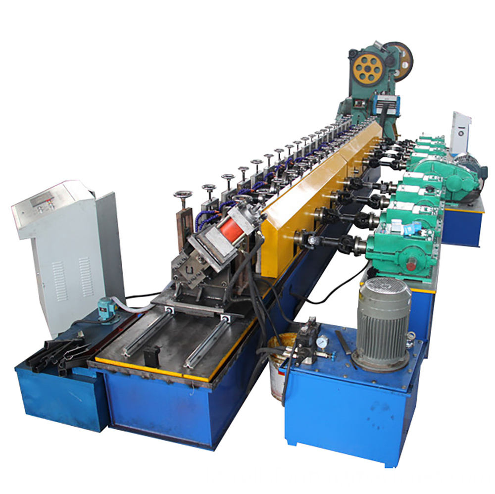 solar strut channel roll forming machine