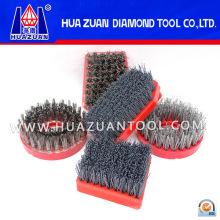 Cepillo abrasivo de diamante para moler piedra