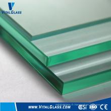 Verre transparent clair et verre flotté avec CE & ISO9001