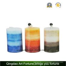 Ароматические свечи искусства столба для домашнего декора Пзготовителей