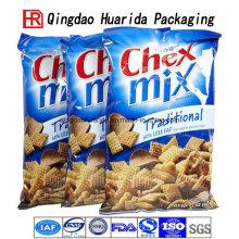 Bolsas plásticas del papel de aluminio que empaquetan la bolsa de empaquetado del alimento del bolso