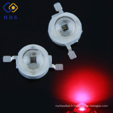 Diode électroluminescente proche infrarouge haute puissance 3W haute puissance rouge 660nm led