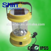 Linterna solar led de arranque dinamo con batería de alta capacidad