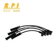 Cable de ignición del silicón de alto voltaje, CABLE DEL ENCHUFE DE LA CHISPA PARA EL INYECTOR PAYKAN PY1600INJ