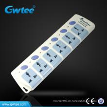 Hergestellt in China Universal wasserdichtes Netzkabel elektrische Schalter Steckdose