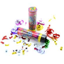 11cm Tall Twist Operated Fête d'anniversaire Confettis Cannon Popper Spring Popper Envoi rapide