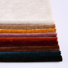 China Factory And Trade Company Heavy 100% polyester chenille tessuti arredamento fabric For Apparel