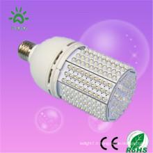 2014 nouveau style b22 e26 e27 e40 base 12-24v ac / dc 12v 24v e27 20w lampe de jardin led solaire 2000lm