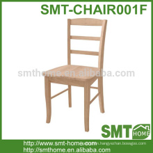 Elegant solo dining furniture chair wood