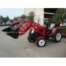 Mini-Traktor mit kombiniertem Löffellader