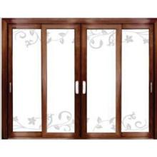 Puerta de aluminio multifuncional deslizante de perfil de aluminio