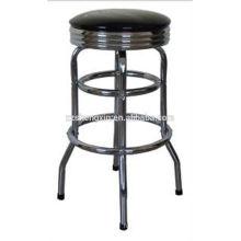 chrome bar chair bar stool