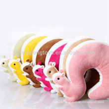 Cute animal u shape neck pillow, funny neck pillow