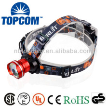 Cree zoom T6 coal mine headlamp