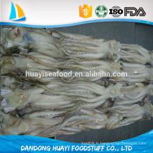 100% cuite nettes de tentacules de calmars congelés avec vitrage de protection