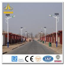 Polo de luz de calle solar personalizado