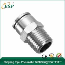 """accesorios neumáticos metálicos macho recta MPC6mm-1/4 """""""