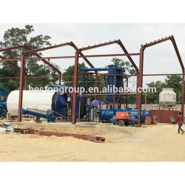 Horno de pirólisis de alta calidad para planta de neumáticos usada en venta