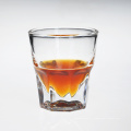 Verre à whisky à boire clair personnalisé en gros